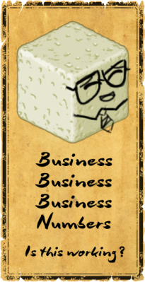 You are so business Mr. Tofu!