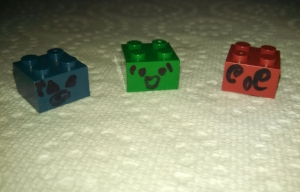 mr tofu lego color variants