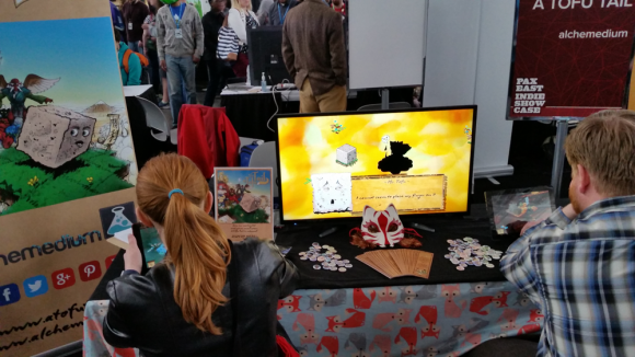 a tofu tail pax east booth layout