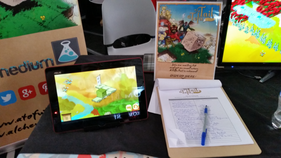 a tofu tail pax east indie showcase mailing list