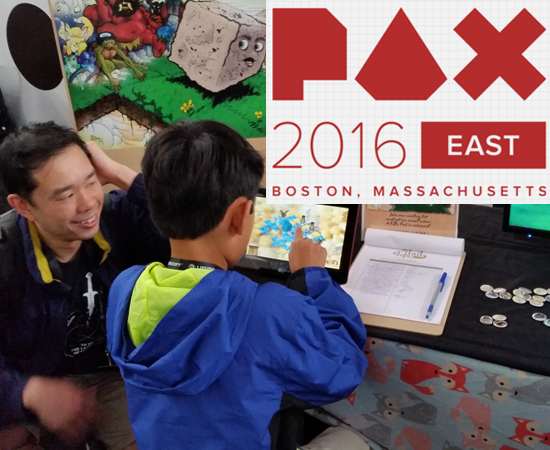 a tofu tail pax east indie showcase postmortem header